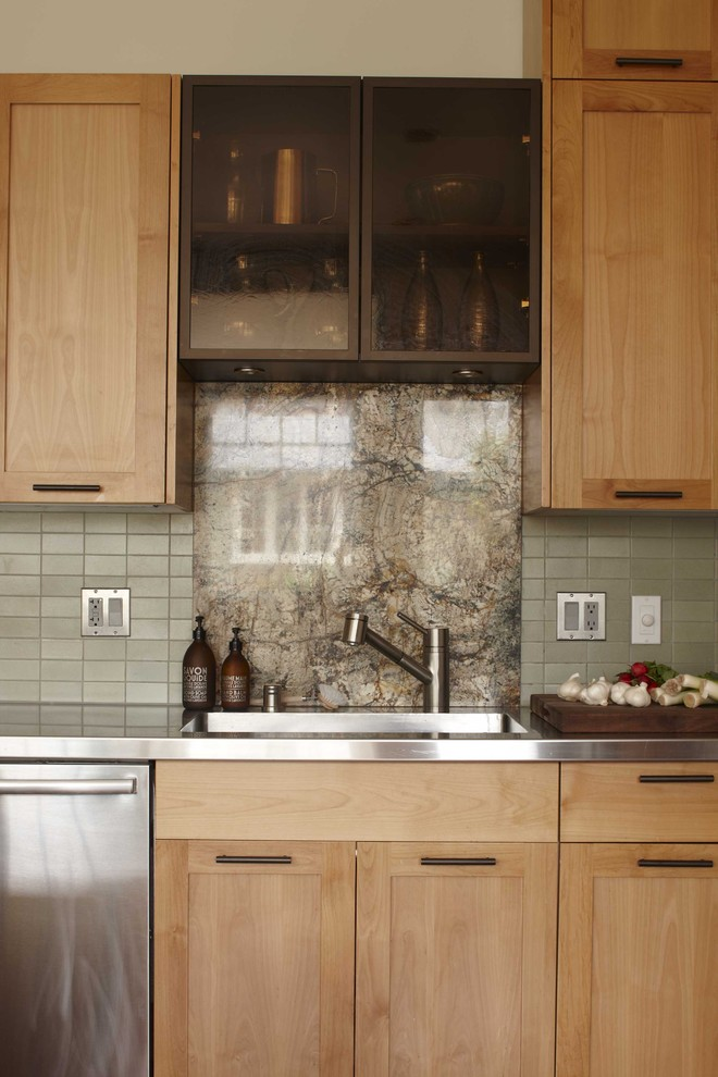 Kitchen , Awesome  Contemporary Solid Wood Cabinetry Photo Ideas : Cool  Transitional Solid Wood Cabinetry Inspiration