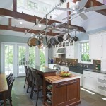 Cool  Transitional Under Cabinet Pot Rack Picture Ideas , Beautiful  Contemporary Under Cabinet Pot Rack Photo Inspirations In Kitchen Category