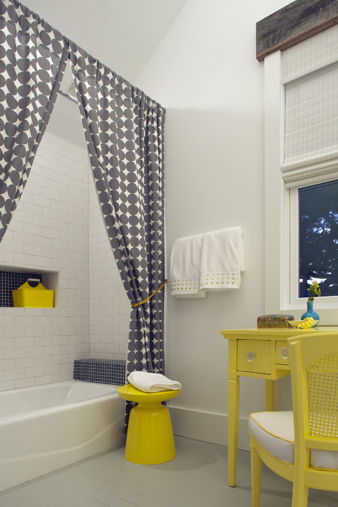 Bathroom , Lovely  Beach Style Bathroom Window Curtain Sets Picture Ideas : Fabulous  Beach Style Bathroom Window Curtain Sets Image Ideas