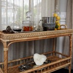 Fabulous  Beach Style Wicker Bar Cart Picture , Gorgeous  Traditional Wicker Bar Cart Photo Inspirations In Dining Room Category