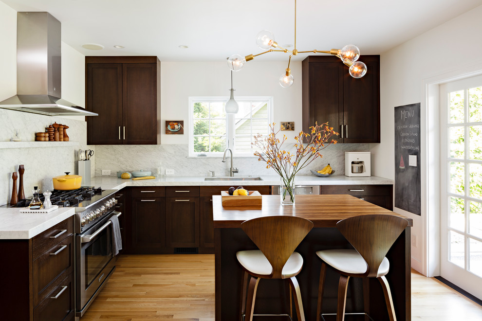 990x660px Charming  Contemporary Cabinets And Counters Photos Picture in Kitchen