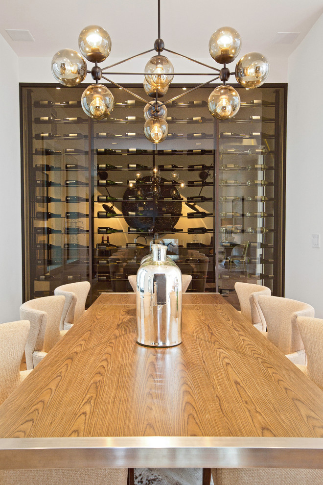 Dining Room , Awesome  Contemporary Dining Table With Wine Storage Ideas : Fabulous  Contemporary Dining Table With Wine Storage Photos