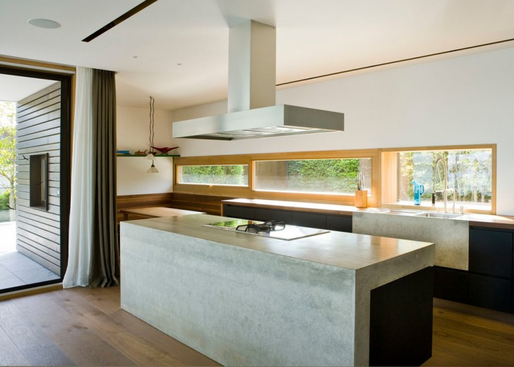 Kitchen , Lovely  Contemporary Foam Concrete Countertop Forms Image Ideas : Fabulous  Contemporary Foam Concrete Countertop Forms Image