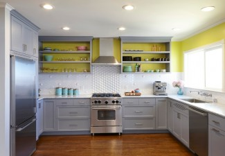 990x638px Beautiful  Contemporary Ideas For Kitchens With White Cabinets Photos Picture in Kitchen