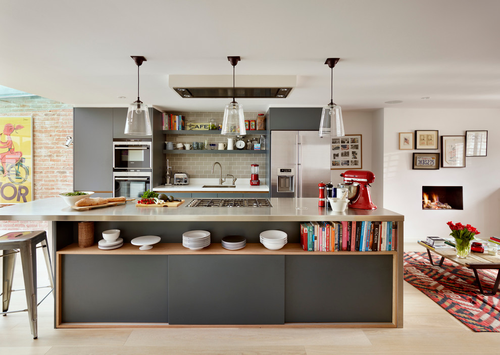 990x702px Beautiful  Contemporary Ikea Kitchens Pictures Ideas Photos Picture in Kitchen