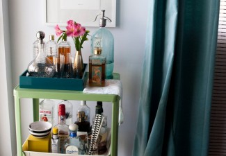 742x990px Stunning  Contemporary Small Bar Cart Photos Picture in Home Bar