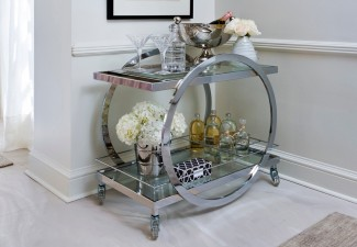 990x660px Charming  Contemporary Vintage Bar Carts Inspiration Picture in Spaces