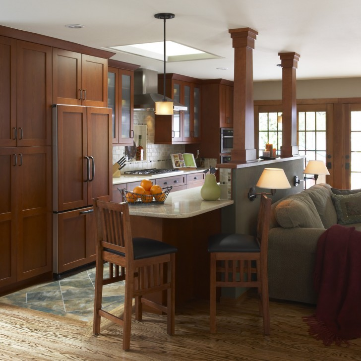 Kitchen , Lovely  Craftsman Styles Of Kitchen Cabinets Picture Ideas : Fabulous  Craftsman Styles of Kitchen Cabinets Picture