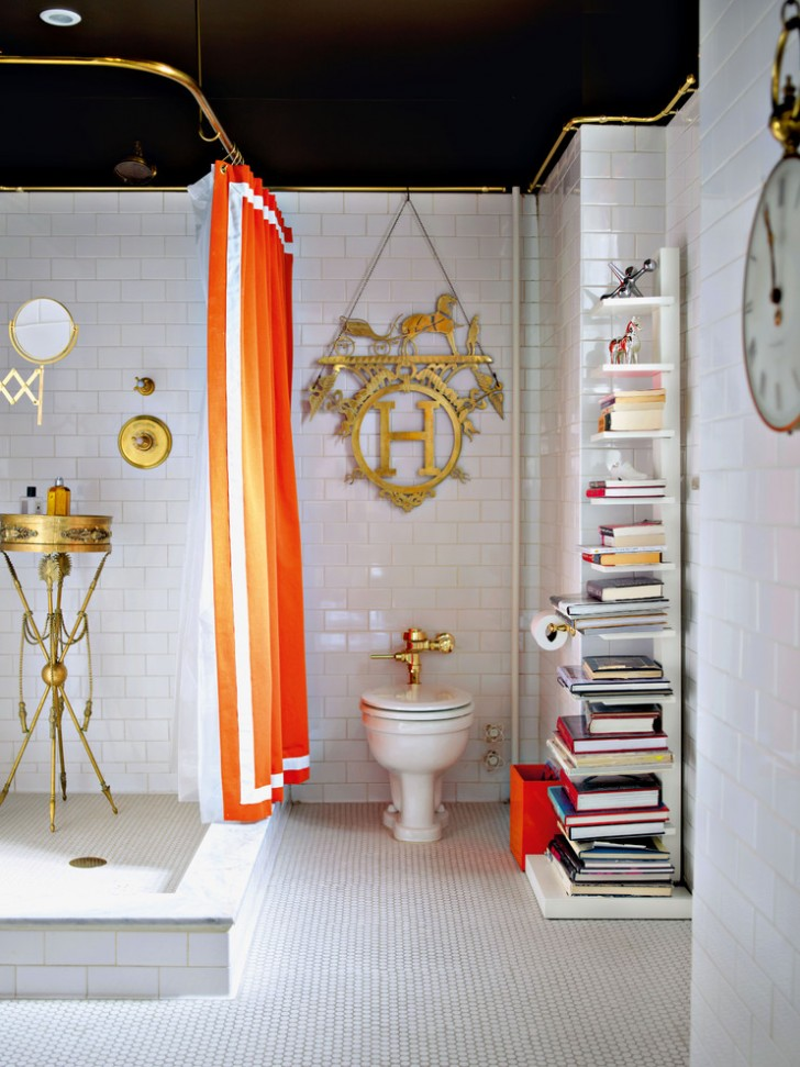 Bathroom , Gorgeous  Eclectic Bathroom Shower Curtains And Matching Accessories Picute : Fabulous  Eclectic Bathroom Shower Curtains and Matching Accessories Photo Inspirations