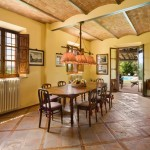 Fabulous  Farmhouse Kitchen and Dining Tables Picture , Charming  Farmhouse Kitchen And Dining Tables Image In Dining Room Category