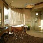 Fabulous  Mediterranean Sheer Bathroom Curtains Inspiration , Lovely  Contemporary Sheer Bathroom Curtains Picture Ideas In Bedroom Category