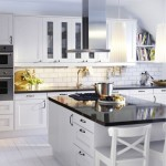 Kitchen , Lovely  Contemporary Ikea Kitchen White Inspiration : Fabulous  Modern Ikea Kitchen White Photo Inspirations