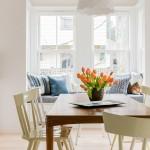 Fabulous  Scandinavian Breakfast Nook Kitchen Table Sets Photo Ideas , Wonderful  Traditional Breakfast Nook Kitchen Table Sets Photo Inspirations In Kitchen Category