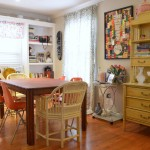 Fabulous  Shabby Chic Faux Bamboo Bar Cart Ideas , Lovely  Eclectic Faux Bamboo Bar Cart Image Ideas In Dining Room Category