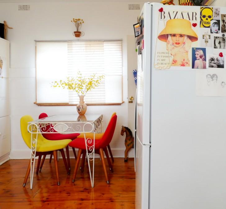 Kitchen , Lovely  Shabby Chic Wooden Kitchen Table Set Ideas : Fabulous  Shabby Chic Wooden Kitchen Table Set Picture