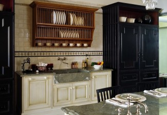 990x792px Charming  Traditional Cabinet Racks Kitchen Photos Picture in Kitchen
