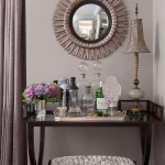 Fabulous  Traditional Mirrored Bar Cart Inspiration , Lovely  Traditional Mirrored Bar Cart Image Ideas In Living Room Category