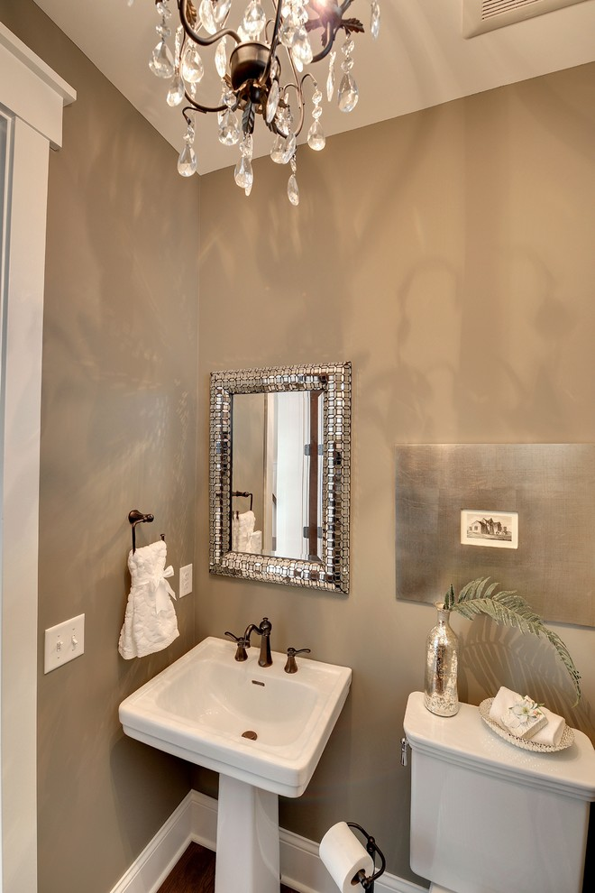Bathroom , Breathtaking  Traditional Small Chandelier For Bathroom Photo Inspirations : Fabulous  Traditional Small Chandelier for Bathroom Photos