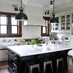 Fabulous  Traditional White Kitchen Island Table Inspiration , Charming  Traditional White Kitchen Island Table Picture In Kitchen Category