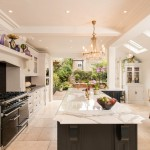 Fabulous  Traditional White Kitchen with Black Island Photo Inspirations , Beautiful  Contemporary White Kitchen With Black Island Picture Ideas In Kitchen Category