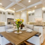 Fabulous  Transitional Corner Kitchen Booth Inspiration , Charming  Contemporary Corner Kitchen Booth Image In Dining Room Category