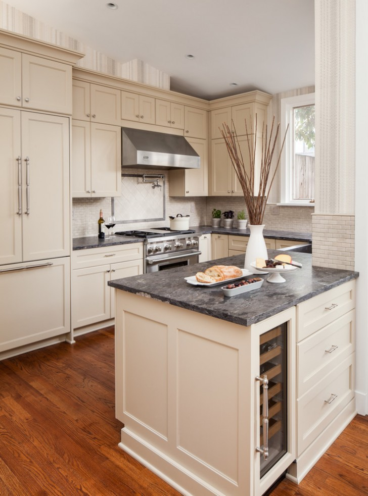 Kitchen , Beautiful  Transitional Kitchen In A Cabinet Photos : Fabulous  Transitional Kitchen in a Cabinet Inspiration