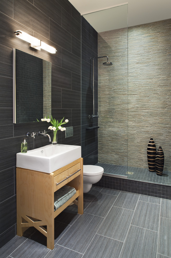 656x990px Cool  Contemporary 24×24 Granite Tile Countertops Image Picture in Bathroom