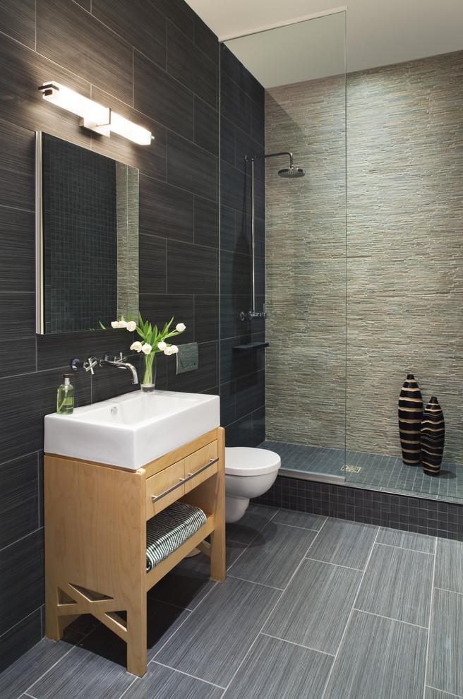 Bathroom , Cool  Contemporary 24×24 Granite Tile Countertops Image : Gorgeous  Contemporary 24x24 Granite Tile Countertops Photo Inspirations