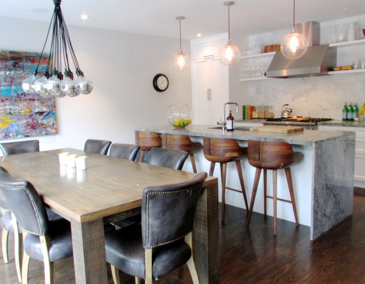 Kitchen , Charming  Contemporary Bar Stool Tables And Chairs Photo Inspirations : Gorgeous  Contemporary Bar Stool Tables and Chairs Photo Inspirations