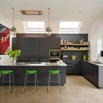 Gorgeous  Contemporary Kitchen Utility Stools Image Ideas , Lovely  Modern Kitchen Utility Stools Photo Ideas In Kitchen Category