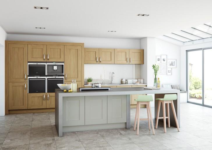 Kitchen , Wonderful  Contemporary Kitchen Wooden Cabinets Picture : Gorgeous  Contemporary Kitchen Wooden Cabinets Photo Ideas