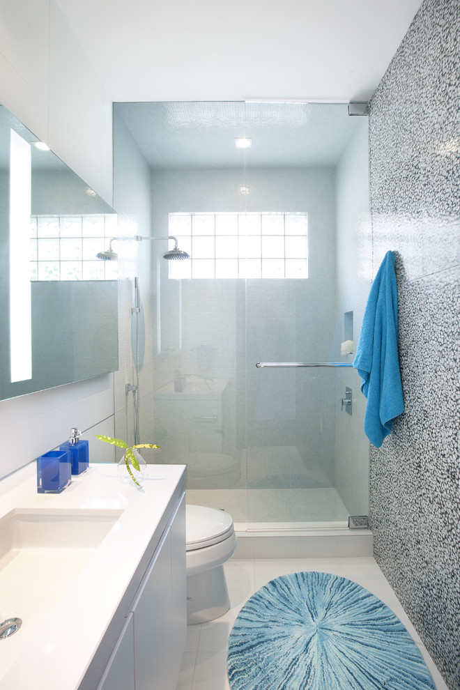 Bathroom , Beautiful  Contemporary Pictures Of Small Bathrooms With Walk In Showers Picture Ideas : Gorgeous  Contemporary Pictures Of Small Bathrooms With Walk In Showers Photos