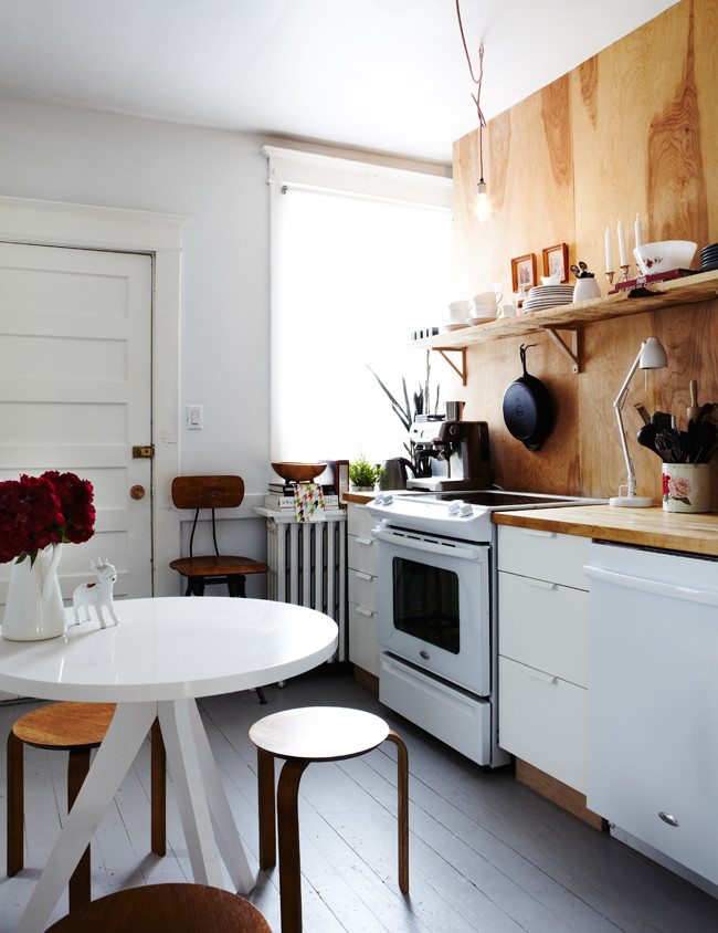 Kitchen , Lovely  Contemporary Tiny Kitchen Table Ideas : Gorgeous  Contemporary Tiny Kitchen Table Picture