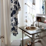 Gorgeous  Eclectic Very Small Bathroom Sinks Image Ideas , Charming  Contemporary Very Small Bathroom Sinks Ideas In Powder Room Category