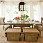 Gorgeous  Farmhouse Dining Room Stools Photo Inspirations , Cool  Transitional Dining Room Stools Image In Living Room Category
