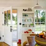 Gorgeous  Farmhouse Primitive Kitchen Decorating  Image Ideas , Cool  Transitional Primitive Kitchen Decorating  Inspiration In Kitchen Category