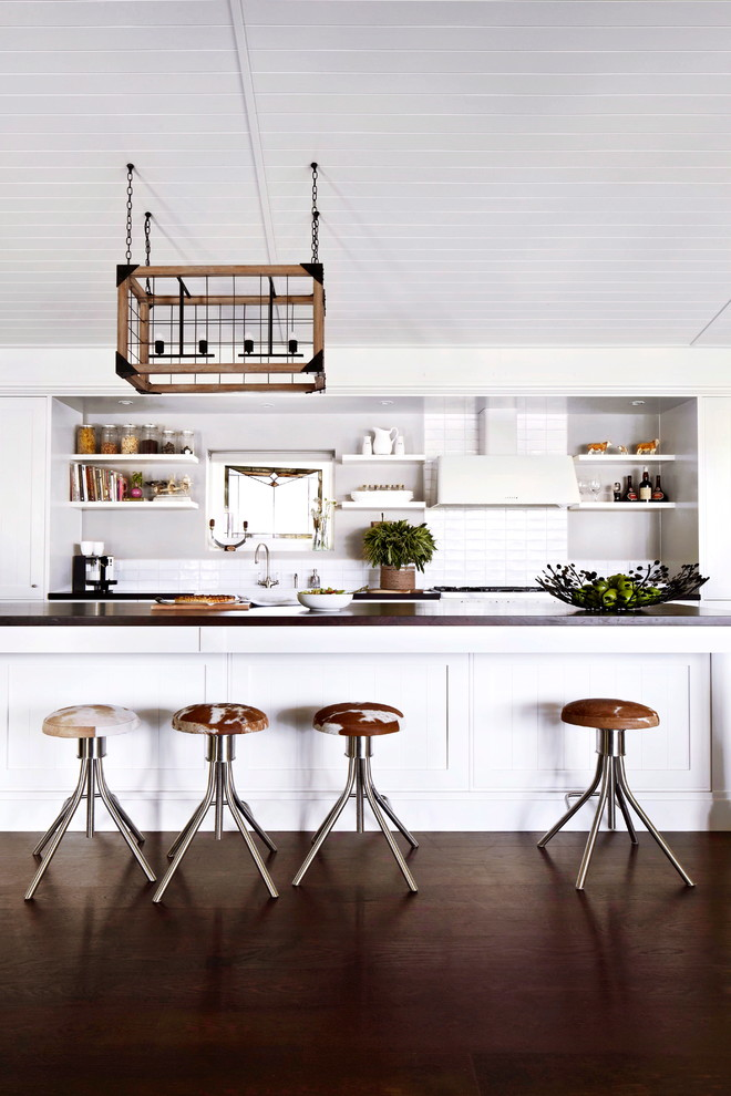 Kitchen , Cool  Farmhouse Rolling Stools For Kitchen Image Inspiration : Gorgeous  Farmhouse Rolling Stools for Kitchen Inspiration
