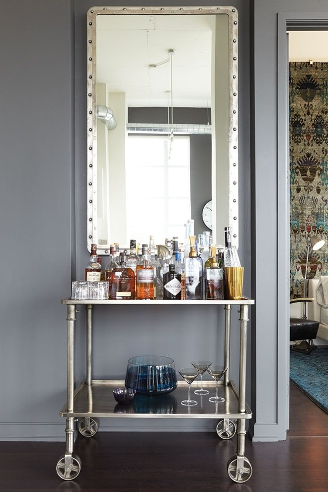 Wine Cellar , Charming  Industrial Bar Cart Wine Rack Ideas : Gorgeous  Industrial Bar Cart Wine Rack Photo Ideas