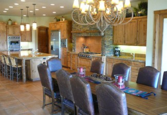 700x526px Wonderful  Rustic Kitchen And Dining Room Tables Photo Ideas Picture in Dining Room