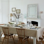 Gorgeous  Scandinavian Dinner Set Table Photo Inspirations , Fabulous  Eclectic Dinner Set Table Picture In Dining Room Category