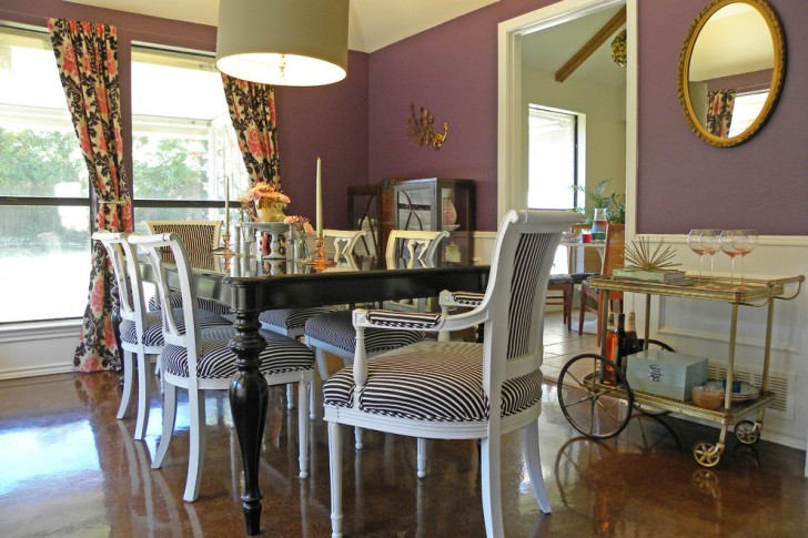 Dining Room , Wonderful  Shabby Chic Dining Room Tables Black Image Inspiration : Gorgeous  Shabby Chic Dining Room Tables Black Image