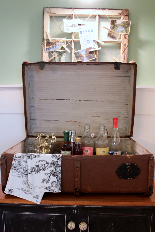 Spaces , Stunning  Shabby Chic Vintage Rolling Bar Cart Ideas : Gorgeous  Shabby Chic Vintage Rolling Bar Cart Ideas