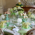 Gorgeous  Traditional Dinner Set Table Picture Ideas , Fabulous  Eclectic Dinner Set Table Picture In Dining Room Category