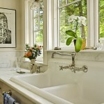 Gorgeous  Traditional Single Bowl Double Faucet Bathroom Sink Picture Ideas , Breathtaking  Eclectic Single Bowl Double Faucet Bathroom Sink Picture Ideas In Bathroom Category