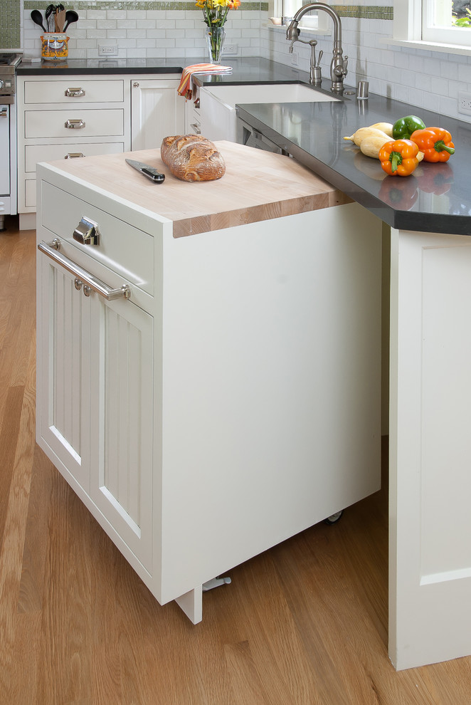 Kitchen , Gorgeous  Midcentury Small Kitchen Cart With Drawers Photo Ideas : Gorgeous  Traditional Small Kitchen Cart With Drawers Image Ideas