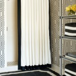 Gorgeous  Transitional Bathroom Shower Curtains and Matching Accessories Photos , Gorgeous  Eclectic Bathroom Shower Curtains And Matching Accessories Picute In Bathroom Category