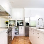 Gorgeous  Transitional Manufactured Cabinets Photos , Awesome  Midcentury Manufactured Cabinets Picture Ideas In Kitchen Category