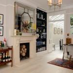 Gorgeous  Victorian Folding Bar Cart Image Ideas , Breathtaking  Eclectic Folding Bar Cart Picture In Dining Room Category