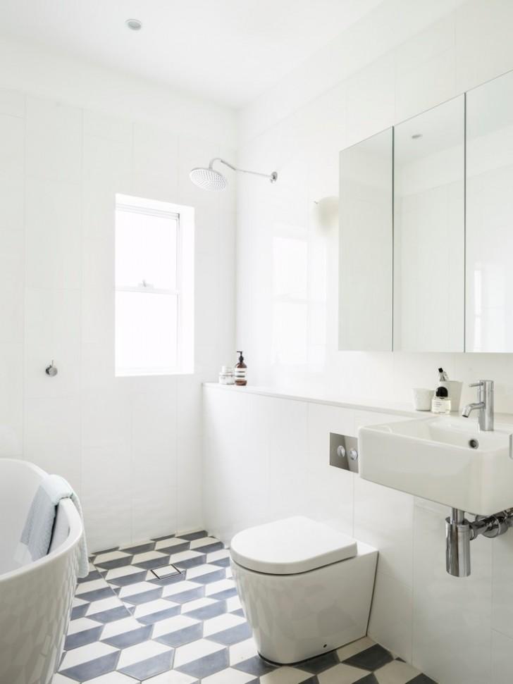 Bathroom , Stunning  Beach Style Bathroom Tiling Ideas For Small Bathrooms Image : Lovely  Beach Style Bathroom Tiling Ideas for Small Bathrooms Picture Ideas