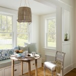 Lovely  Beach Style Dining Nook Sets Image , Awesome  Shabby Chic Dining Nook Sets Picture Ideas In Kitchen Category